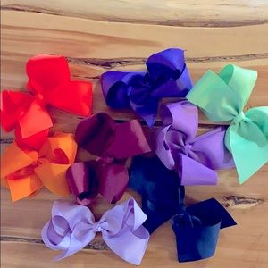 Other - Bundle of 8 Hair Bows